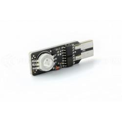 Ampoule 2 LED RGB EPISTAR - W5W - Strobo