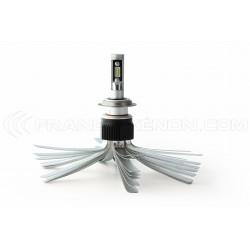 Kit LED H7 + H4 LumiLed - 6000Lm - Moto - 12V/24V