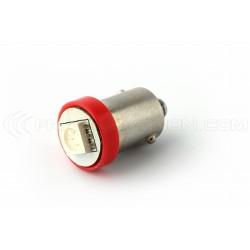 1x Bulbs BA9S 44 47 6,3V 1SMD RED