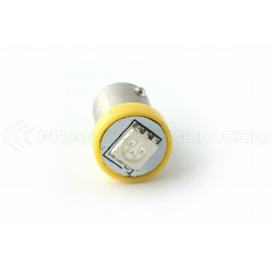 1x Bulbs BA9S 44 47 6,3V 1SMD AMBER