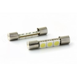 2 x bulbs shuttle slim - 3 leds 31mm