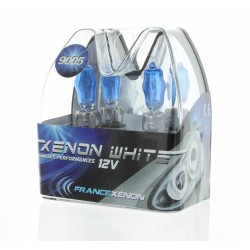 2 x 65w 6000k bulbs hb3 9005 hod xtrem - France-xenon