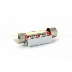 1 x LED 37mm - white - r-LED C5W / c7w - 3 ss canbus