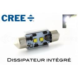 1 x LED 37mm - White - 2 CREE C5W / C7W