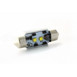 1 x LED 37mm - White - CREE C5W / C7W - CANBUS