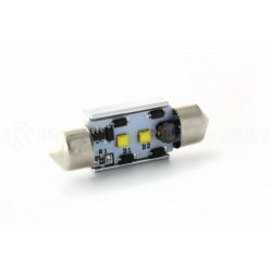 1 x LED 37mm - White - CREE C5W / C7W - CANBUS