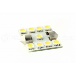 1 x bulb c3w smd LED 9 - 33mm shuttle