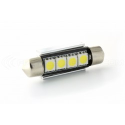 1 x LED shuttle fx racing C10W 42mm 4 smd DISSIPATOR canbus - Shuttle