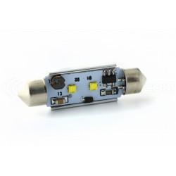 1 x LED 42mm - White - 2 CREE C10W