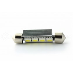 Pack 2 x LED shuttle fx racing c10 42mm 4 smd DISSIPATOR canbus - nave