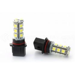 2 x 18 LED bulbs SMD - P13W - White