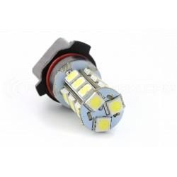 2 x Ampoules 18 LED SMD - P13W - Blanc