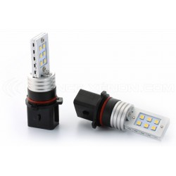2 x bombillas 21 LED SMD - PS19W / PSX24W- Blanco