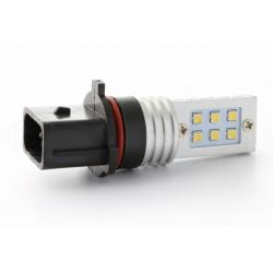 2 x 12 LED bulbs ss hp - P13W - White