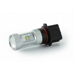 2 x 6 bulbs creates 30w - P13W - upscale