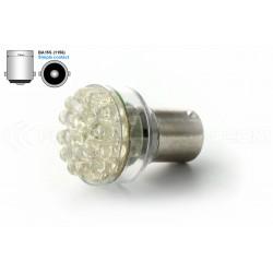 Lampadina 24 LED - BA15S P21W 1156 T25 - Blanc