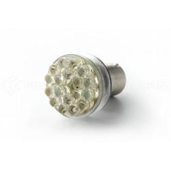 Ampoule 24 LED - BA15S P21W 1156 T25 - Blanc