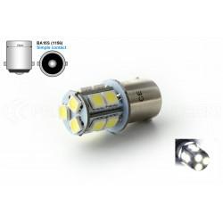 Bulb 13 SMD LED - BA15s / P21W / 1156 / t25 - White