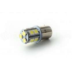Lampadina 13 LED SMD - BA15S / P21W / 1156 / T25 - Blanc