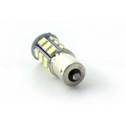 Bulb 24 LED SMD -  P21W / BA15S / T25 - White