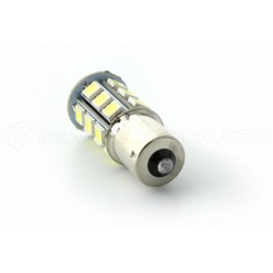 Lampadina 24 LED SMD -  P21W / BA15S / T25 - Bianca