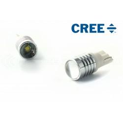 2 x 1 lampadine CREE LED CREE - LED CREE - T10 W5W