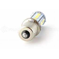 21 LED SMD - Glühbirnen BA15S / P21W / 1156 / T25 - weiß