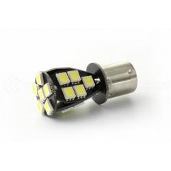 Lampadina CANBUS 21 LED SMD - BA15S / P21W / 1156 / T25 - Bianco