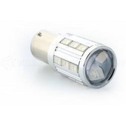 2x LED-Lampen 21 sg - P21W - orange / Blut