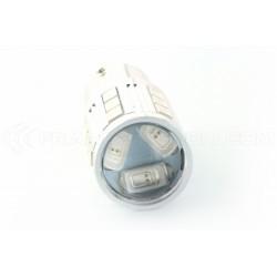 Lampadina 21 LED SG - P21W - Giallo - 1156 BA15S