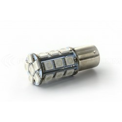 Bulb 24 SMD LED orange - BA15s / P21W / 1156 / t25 - Orange