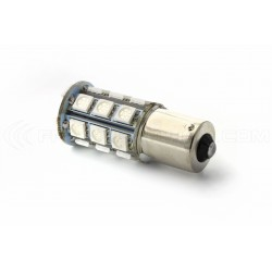 Birne 24 SMD LED rot - BA15s / P21W / 1156 / t25 - rot