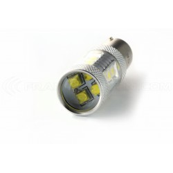 2 x Ampoules 21 LED SMD - PS19W / PSX24W- Blanc - Audi A3 8P