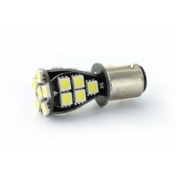 2 x Ampoules CANBUS 27 LED SMD - BAY15D / P21/5W / 1157 / T25 - Blanc
