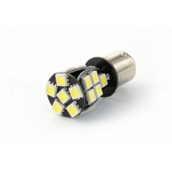 2 x 21 LED bulbs canbus smd - BAY15D / p21 / 5w / 1157 / t25 - White