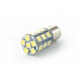 2 x Ampoules 21 LED SMD - BAY15D / P21W / 1157 / T25 - Blanc