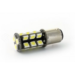 2 x 27 LED SMD canbus bulbs - BAY15D / p21 / 5w / 1157 / t25 - White
