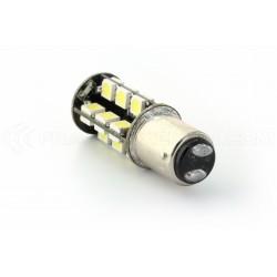 2 x 27 LED SMD canbus Glühlampen - BAY15D / p21 / 5w / 1157 / t25 - White