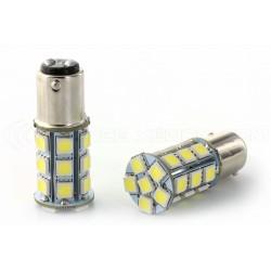 2 x 24 LED SMD P21/5W - weiße Zwiebeln