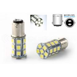 2 x 24 LED-Lampen SMD - p21 / 5W - White