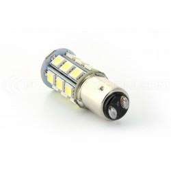 2 x Ampoules 24 LED SMD ROUGE - P21/5W / 1157 / BAY15D - Rouge