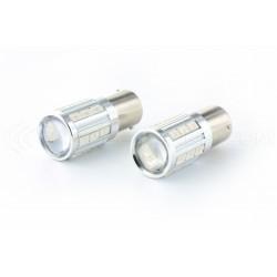 2x Ampoules 21 LED SG - PY21W - Jaune