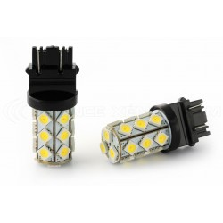 2 x dual color bulbs - p27 / 7w - us approval