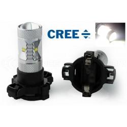 2 x Ampoules 6 CREE 30W - PY24W - Haut de Gamme