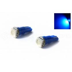 2 x Ampoules 1 LED SMD BLEUE - T5 W1.2W