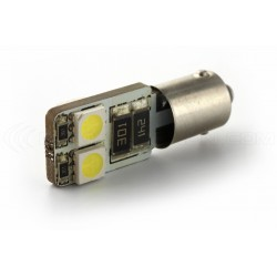 2 x AMPOULES 4 LEDS SMD CANBUS - T4W BA9S