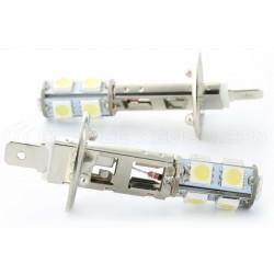 2 x H1 LED SMD 9 LED-Lampen