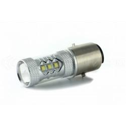 ampoule led ba20d h6 led cree pour feux moto soccer quad france xenon. Black Bedroom Furniture Sets. Home Design Ideas