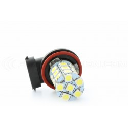 2 x H1 25 LED SMD LED bulbs