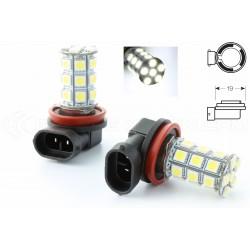 2 x Ampoules H8 LED SMD 27 LED